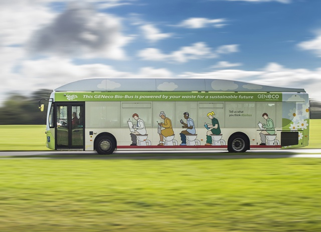 All aboard the Poo Bus! Sewage-powered bus makes eco-tourists want to go to Bath