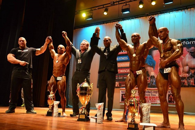 Bodybuilding: Seychelles Ziad Mekdachi second overall at Mauritius bodybuilding event