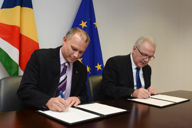 Seychelles receives $6.4m in sustainable development and climate change grants from EU