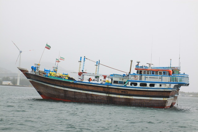 Iranian fishing vessels detained on suspicion of illegal fishing in the Seychelles waters
