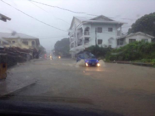 A shaky start to 2015 as heavy rain hits Seychelles capital