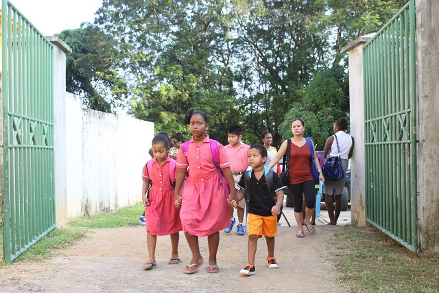 Back to school in Seychelles - exciting moments for children, parents and teachers