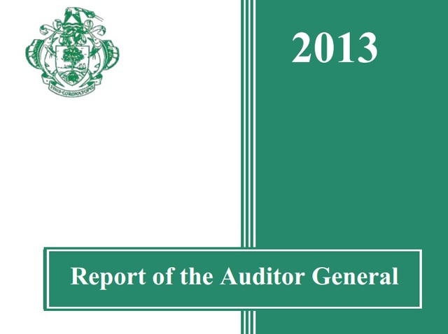 No 'serious' misuse of public funds in 2013, says Seychelles Auditor-General