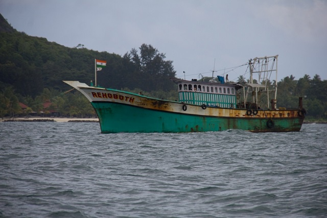 Two Indian fishing vessels intercepted by Seychelles Coast Guard