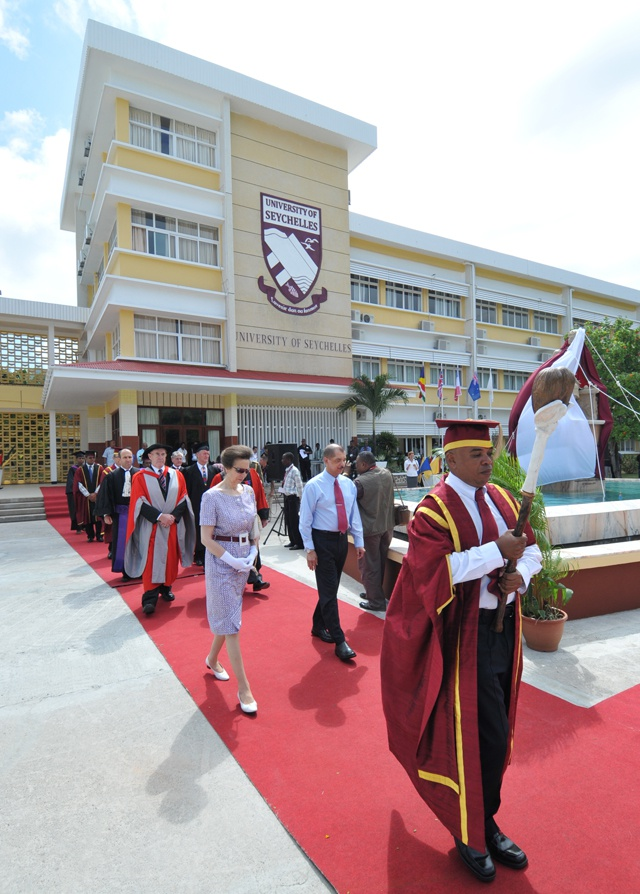 International students expected to begin studies at the University of Seychelles in 2015