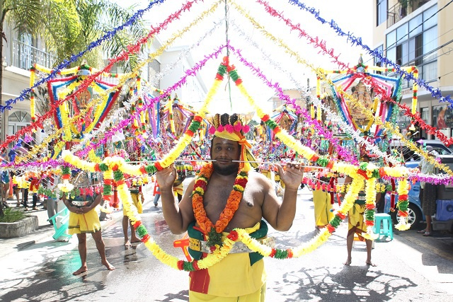 Seychelles Hindu devotees show their mettle at Thaipoosam Kavadi Festival