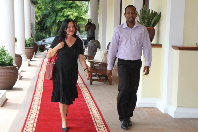 Supportive through difficult times – Seychelles President thanks outgoing French Ambassador