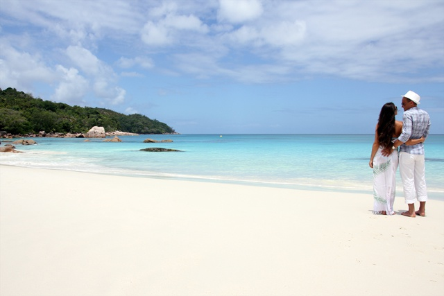 Praslin Island's Anse Lazio voted the 6th best beach in the world by TripAdvisor users