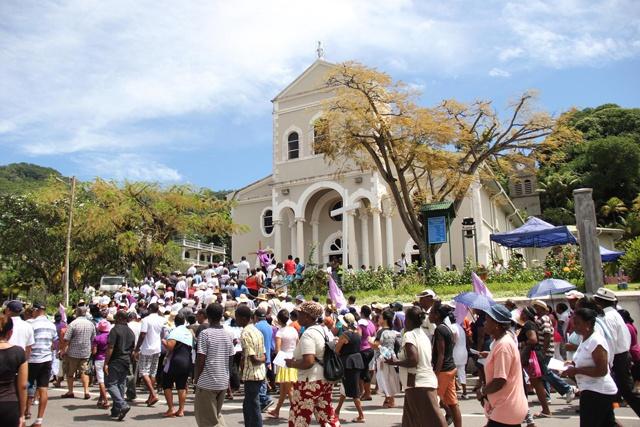 Le Vendredi saint célébré à travers les Seychelles