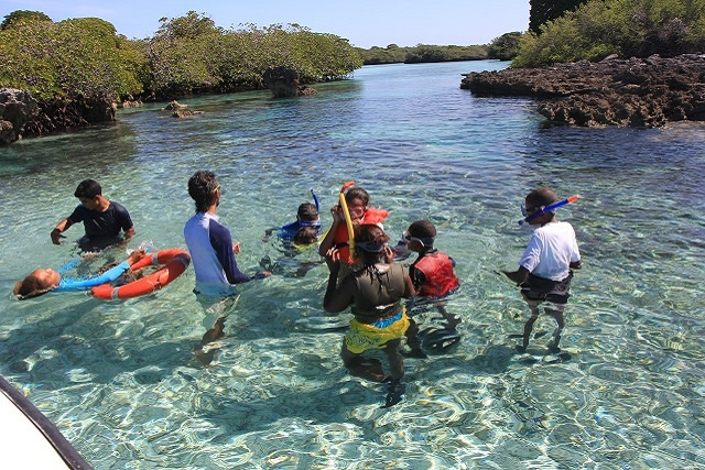 Grooming an eco-friendly generation - Visits by students to the Seychelles atoll of Aldabra resume in 2015