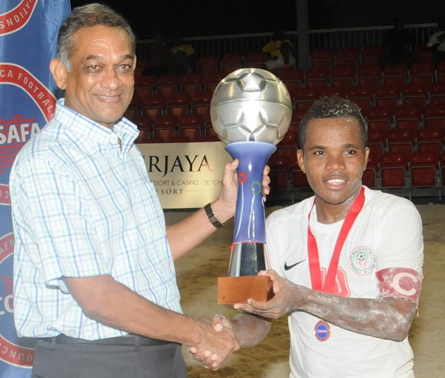 Madagascar wins first Seychelles hosted COSAFA beach soccer tournament