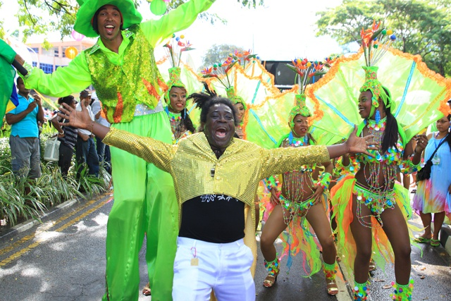 Culture in vibrant colours - 20 countries strut their stuff in Seychelles carnival parade