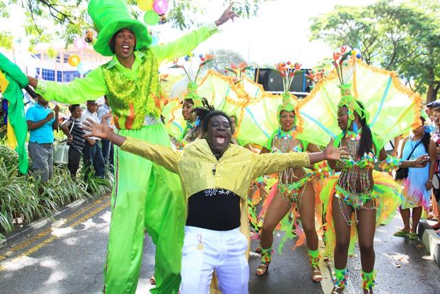 Le mélange des cultures, l'alchimie du Carnaval International de Victoria, aux Seychelles