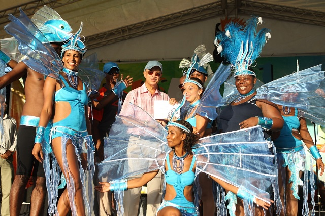 A flying whale shark of a time: parade winners rejoice as Seychelles carnival is closed