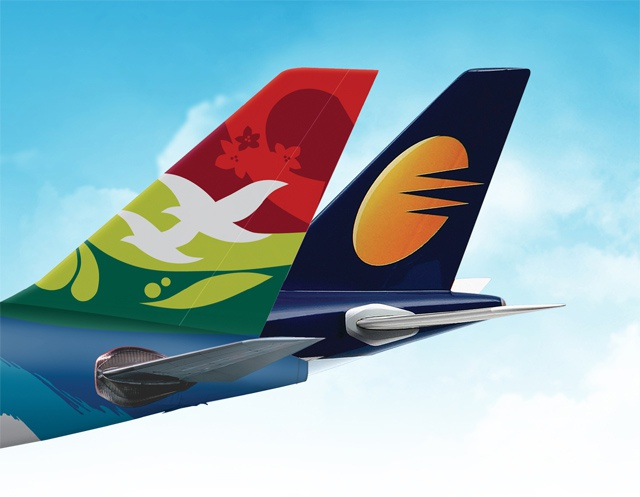 More connections for travel between Seychelles and India as Air Seychelles and Jet Airways become codeshare partners