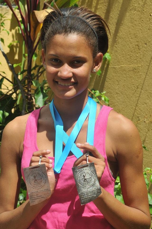 Une athlète des Seychelles qualifiée pour les JO de 2016 à la suite de sa médaille d'or à l'Open d'Afrique du Sud