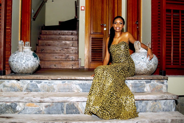 'Do not be just a pretty face, what is within is more important': Miss Seychelles 2015 contestant Chette-Pah Semerano