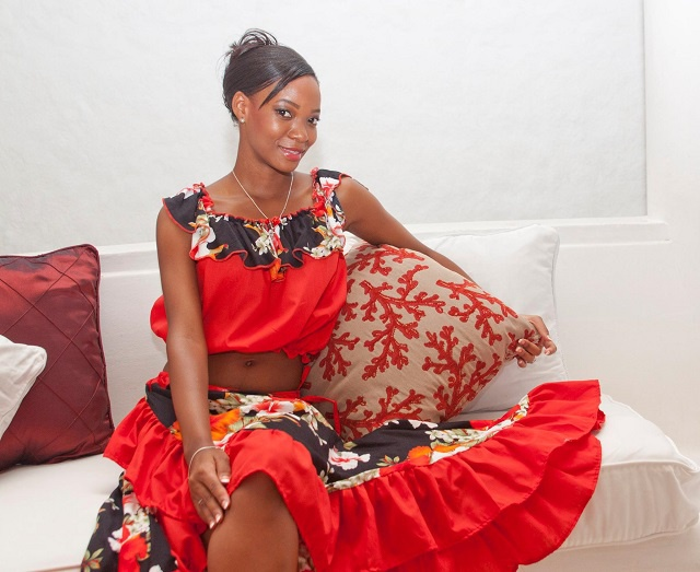 """""""Know who you are and be proud of it...,"""" says Miss Seychelles 2015 contestant Gillian Come"""