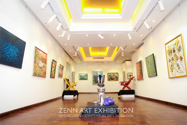 Uniting to showcase cultures through art - Seychellois students host 'ZENN Exhibition' in China