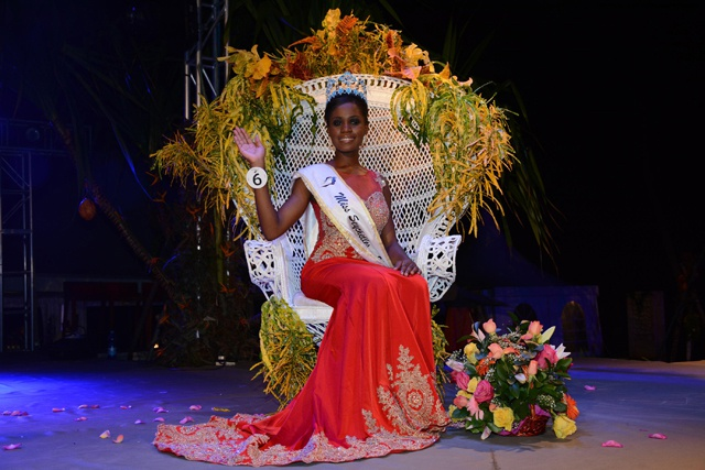 A dream come true - Linne Freminot is crowned the new Miss Seychelles 2015