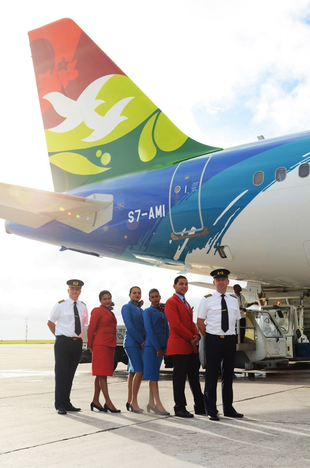 """Opening up air access"": Air Seychelles Airbus transferred from Etihad Airways' to the Seychelles register of aircraft"