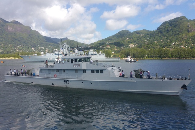 "Seychelles defence forces investigate ""controlled substance"" seizure onboard Coast Guard vessel"