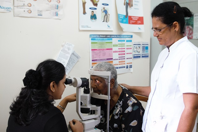 Vision improved: four day eye-camp clears 155 cataract patients in Seychelles