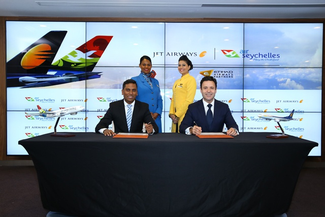Flying to Seychelles from nine Indian cities – Air Seychelles expands Jet Airways codeshare deal