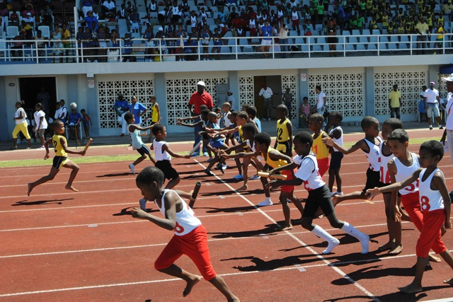 Competing in harmony and fair-play: annual school athletics championship closes Seychelles first Constitution Day