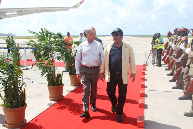 President of Palau in Seychelles as National Day guest of honour