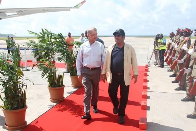 Le président des Palaos l'invité d'honneur des célébrations de la Fête de l'indépendance des Seychelles