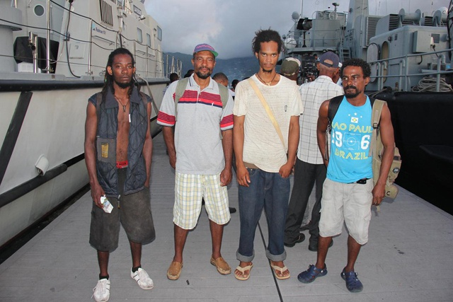 Four Seychelles fishermen tell of lost at sea experience upon safe return home