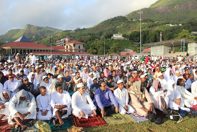 A message of understanding and tolerance as Muslims celebrate Eid-ul-Fitr in Seychelles