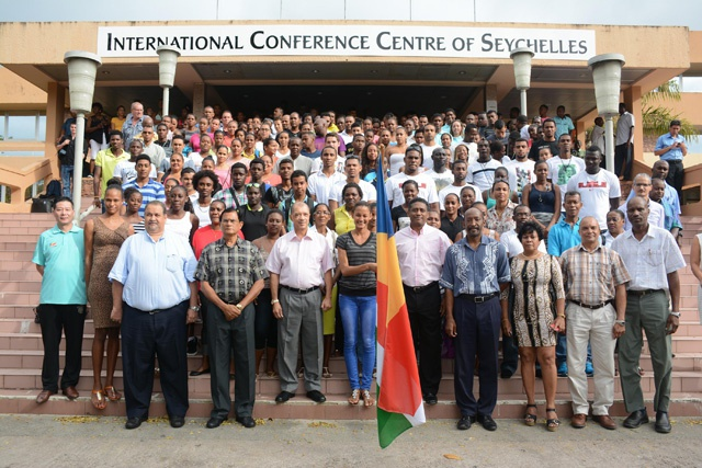 Going for gold! Team Seychelles ready to do battle in Indian Ocean Island Games