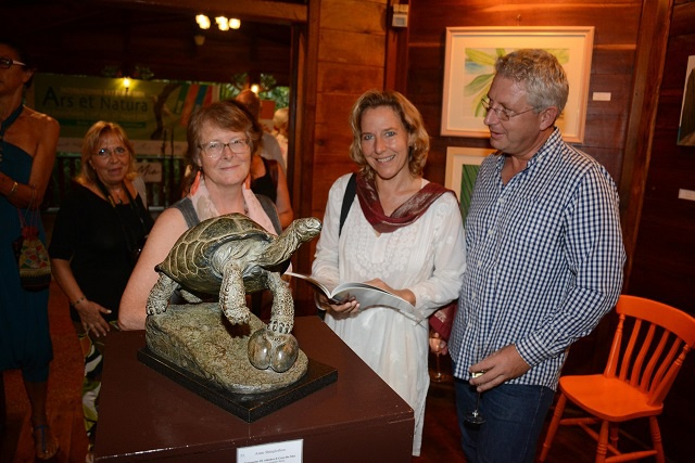 The Italian job - Seychelles flora and fauna showcased in travelling art exhibition