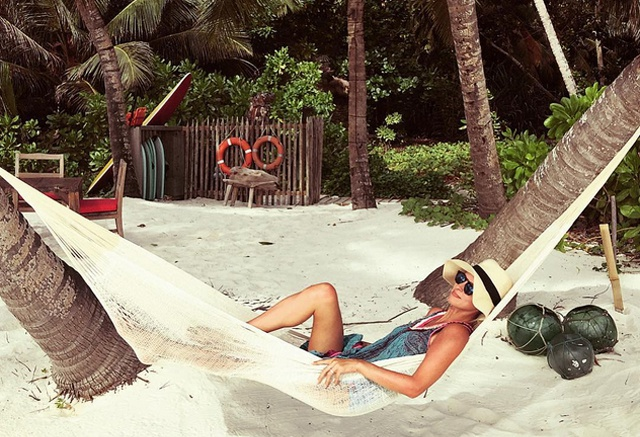 A honeymoon in paradise - Nicky Hilton returns from post-wedding getaway in Seychelles