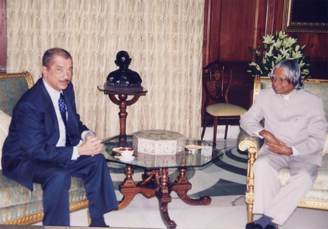 Seychelles President sympathizes with India following the death of former President Kalam