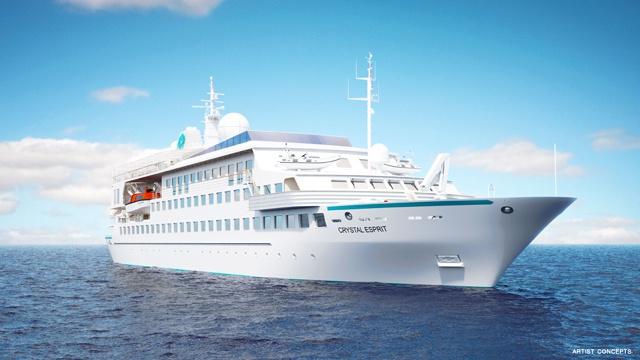 Intéressé par un mariage sous l'eau ? Crystal Cruises va proposer des expéditions à bord de yachts de luxe pour les Seychelles