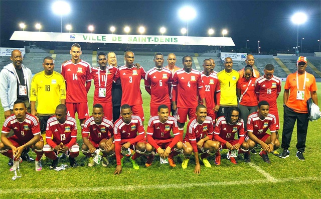Seychelles men's football team eliminated in group stage at Reunion games after failing to defend IOIG title