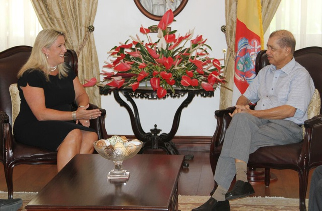 British High Commissioner Lindsay Skoll bids farewell to Seychelles after 'eventful' mission