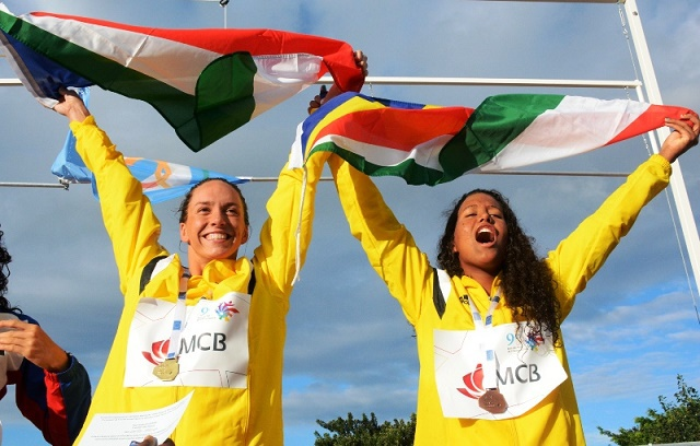 Seychelles female weightlifters and swimmer harvest 7 more gold medals at the Indian Ocean island Games