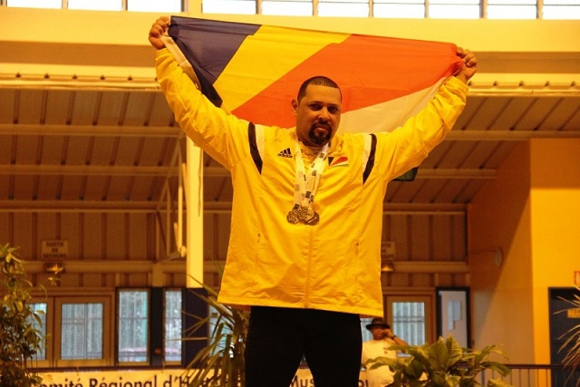 Weightlifting wins most of Seychelles gold medals so far at the IOIG in Reunion