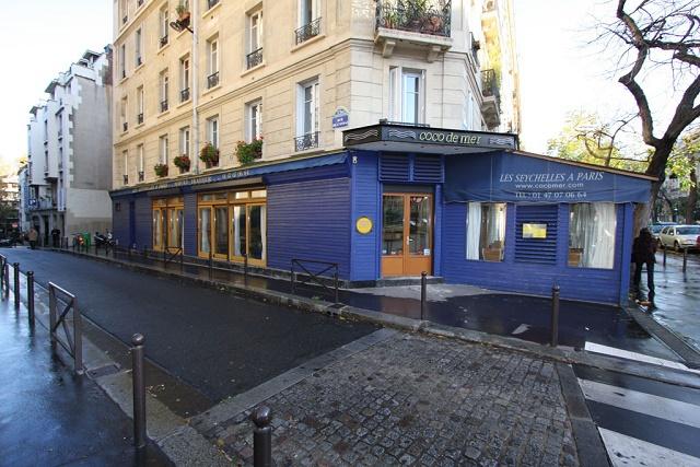 Le restaurant « Coco de Mer », un petit coin des Seychelles au cœur de Paris.