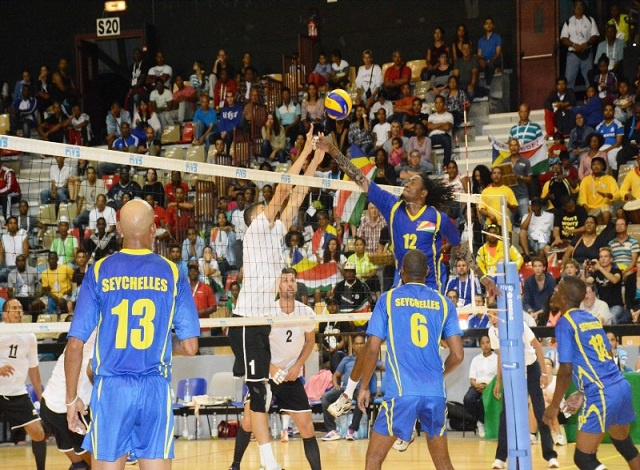 Seychelles ladies win volleyball final to retain Indian Ocean Island Games title while the men relinquish title to Reunion