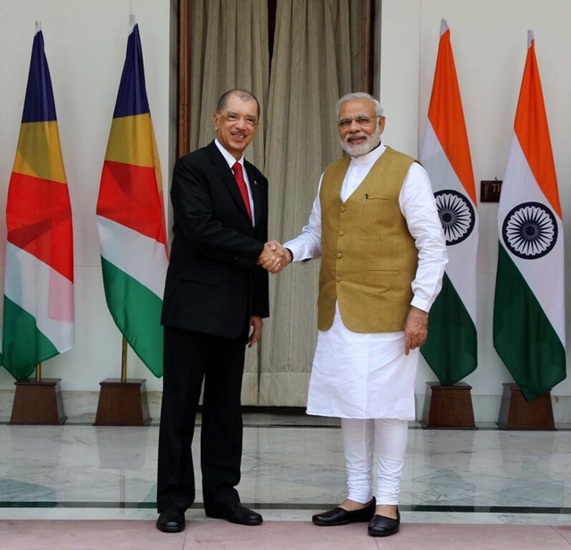 Five agreements signed as Seychelles President Michel begins state visit in India