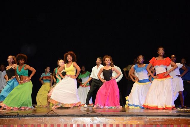 Dansons! Des danseurs régionaux ont partagé leur expertise et allié leur talent lors de la biennale de danse des Seychelles