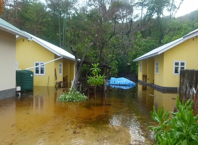 Heavy rains leave rangers stranded on Aride nature reserve: Seychelles experiences 'wet' dry season due to El Niño phenomenon