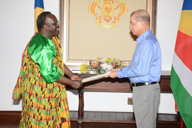Turning historical ties into economic cooperation: new high commissioner of Ghana accredited to Seychelles