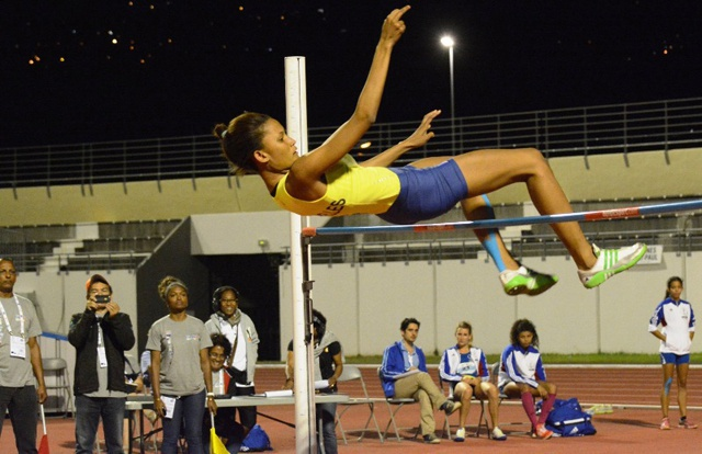 Seychelles clinches gold in ladies High Jump at the All Africa Games in Brazzaville