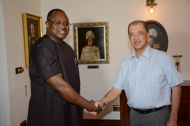 Seychelles-Nigeria investment forum expected to boost trade says outgoing Nigerian High Commissioner to Seychelles